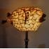 Prachtige Lamp met antieke grote Egelvis